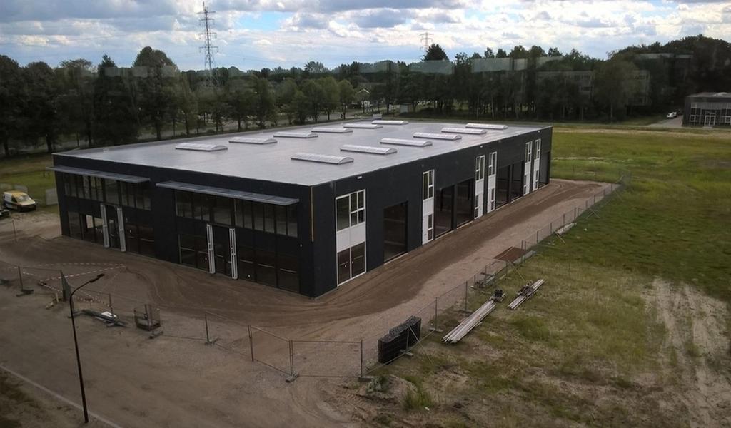 Nieuwbouw bedrijfsverzamelgebouw Fizzionparc Apeldoorn
