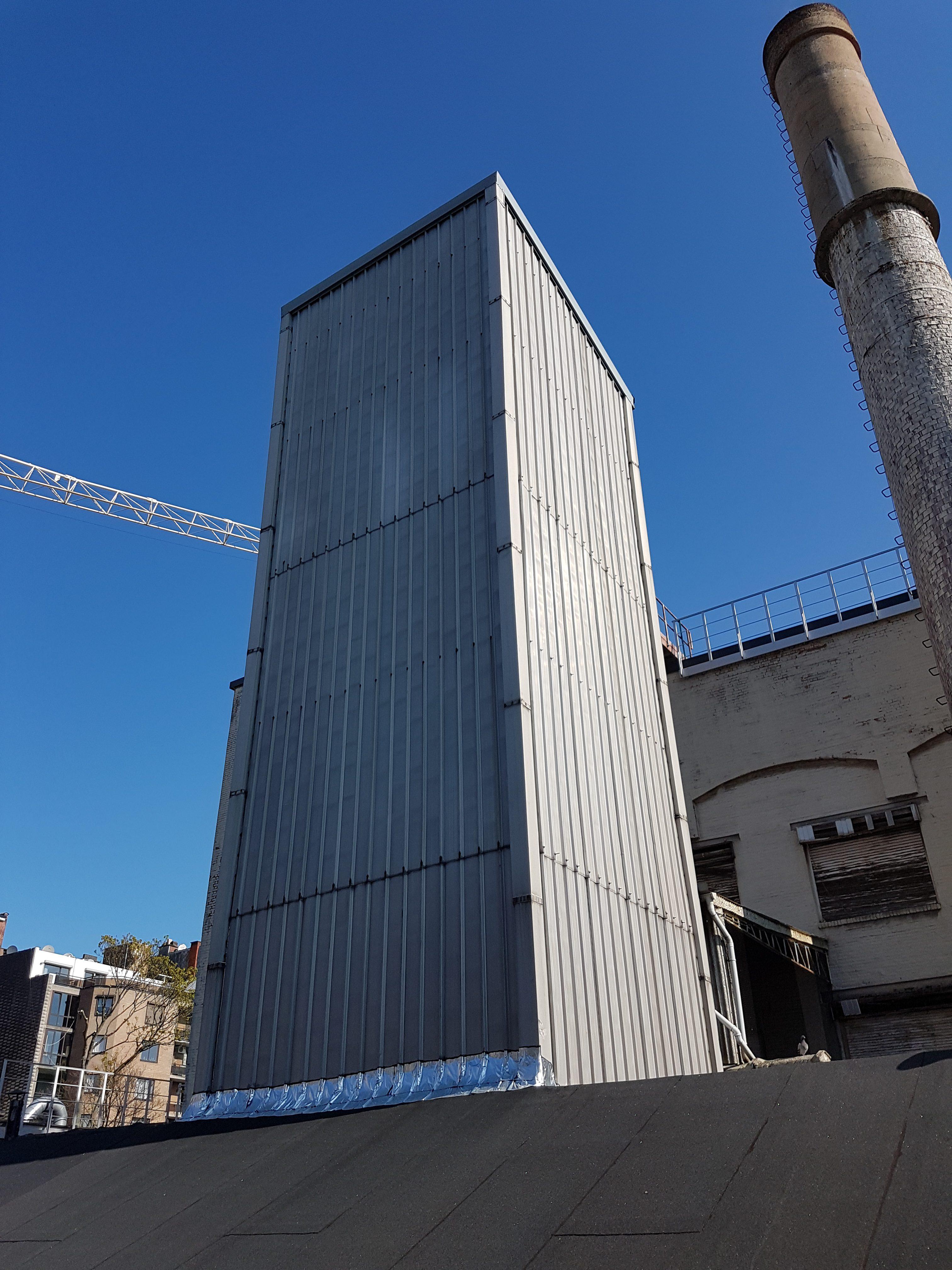 Renovatie Cargill Chacolate Antwerpen